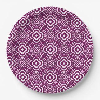 Purple Peddler 9 Inch Paper Plate