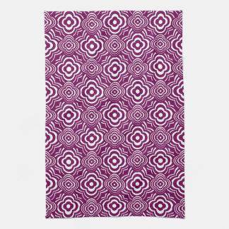 Purple Peddler Hand Towel