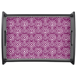 Purple Peddler Serving Tray