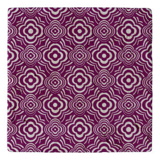 Purple Peddler Trivet