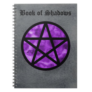 Purple Pentacle Book of Shadows Notebook 2