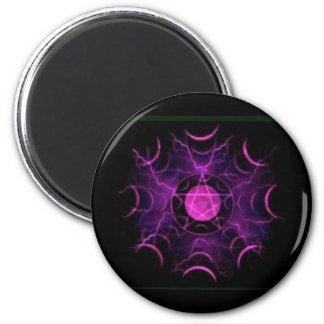 Purple Pentacle Magnet