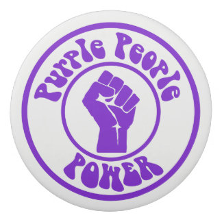 Purple People Power Eraser