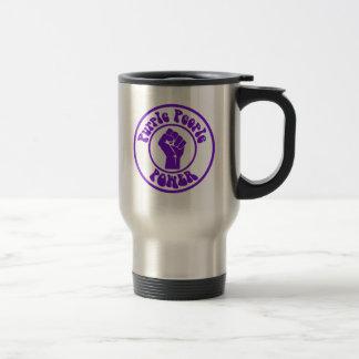 Purple People Power Travel Mug