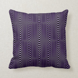 Purple People's Illusions.... Throw Pillow