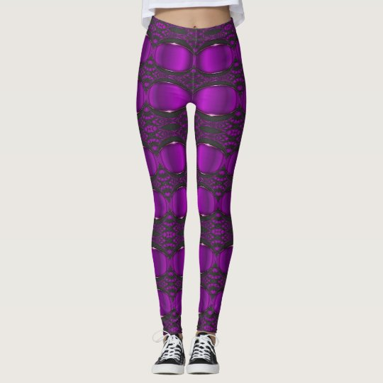 Purple Performance / Techno Leggings Design