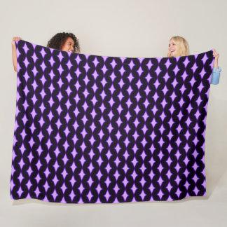 Purple Persian Diamond Princess Plush Fleece Blanket