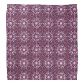 Purple Persian Rug Medallions Bandana