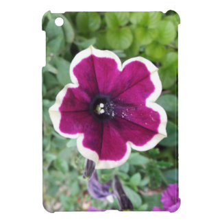 Purple Petunia iPad Mini Case