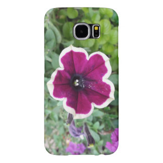 Purple Petunia Samsung Galaxy S6 Cases