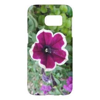 Purple Petunia Samsung Galaxy S7 Case