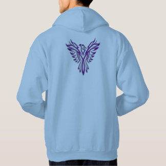 Purple Phoenix Rising hoody