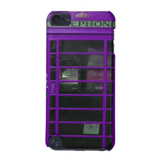 purple phone booth iPod touch (5th generation) cover