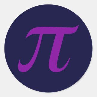 Purple Pi Sticker