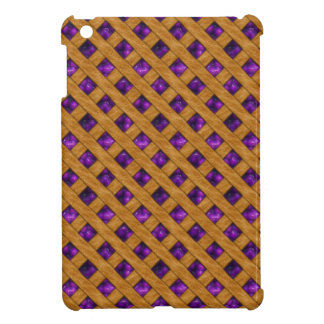 Purple Pie iPad Mini Cover