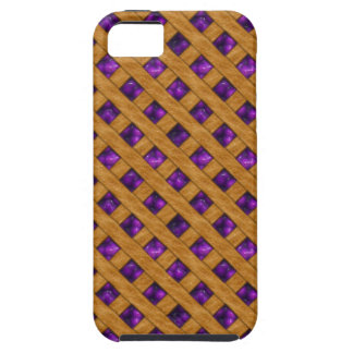 Purple Pie iPhone 5 Case