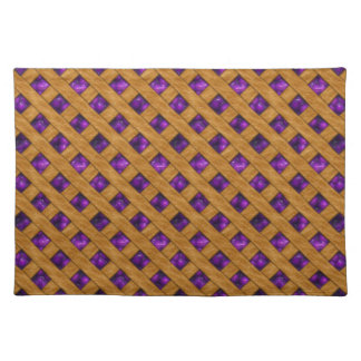 Purple Pie Placemat
