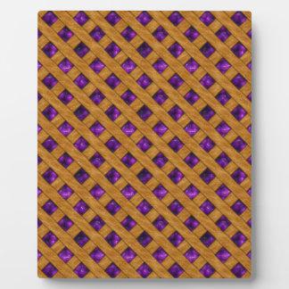 Purple Pie Plaque
