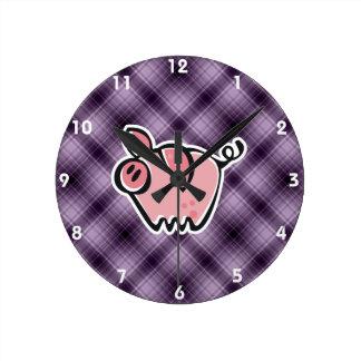 Purple Pig Clocks