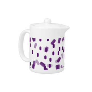 Purple pill teapot