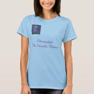 purple_pin, FibromyalgiaThe Invisible Disease T-Shirt