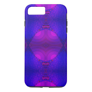 Purple Pink Abstract Artwork iPhone 7 Plus Case