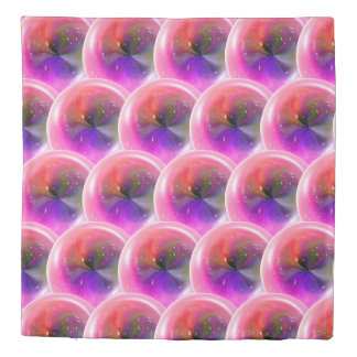 Purple Pink Abstract Swirl Duvet Cover