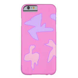 Purple & Pink Barely There iPhone 6 Case