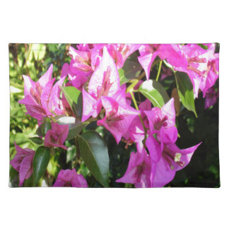 Purple Pink Bougainvillia In Blossom Placemat