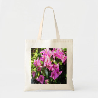 Purple Pink Bougainvillia In Blossom Tote Bag