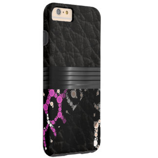 Purple Pink Cheetah Tough iPhone 6 Plus Case