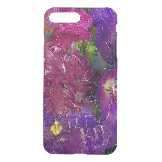 Purple Pink Flower Garden iPhone 7 Plus Case