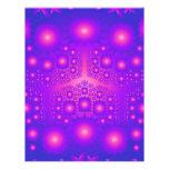 Purple & Pink Fractal Explosions: Flyer
