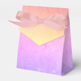 Purple Pink Gradient Wedding Favor Box