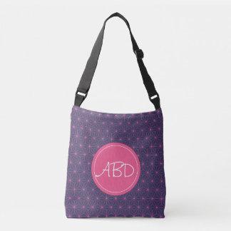 Purple Pink Lazer Crossbody Bag