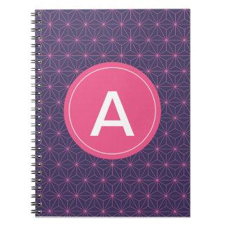 Purple Pink Lazer Notebook
