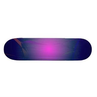 Purple Pink Moon in the Navy Sky Custom Skateboard