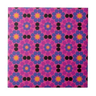 Purple Pink Mosaic Tile