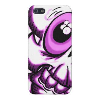Purple/Pink Skull iPhone 5 Case