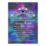 Purple Pink Teal Blue Quinceanera