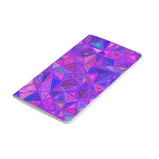 Purple pink tile mosaic journal