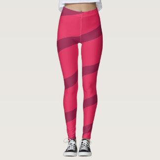 Purple pinkel fun leggings
