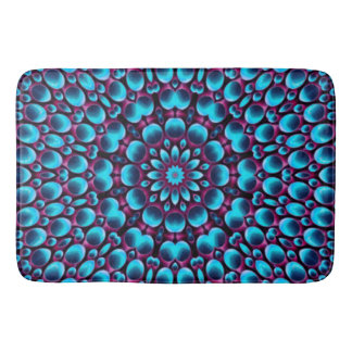 Purple Piper  Kaleidoscope  Bath Mats