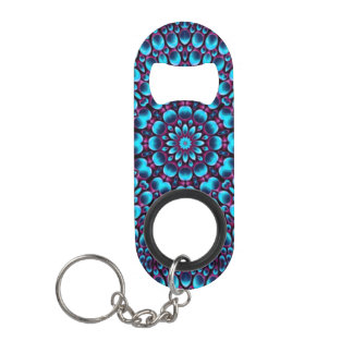 Purple Piper Kaleidoscope  Bottle Openers, Mini Bottle Opener