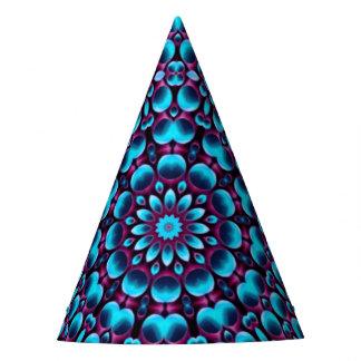 Purple Piper Kaleidoscope   Customizable Party Hat