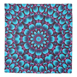 Purple Piper Kaleidoscope    Duvet Covers