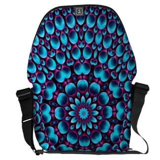 Purple Piper Vintage     Kaleidoscope Courier Bags