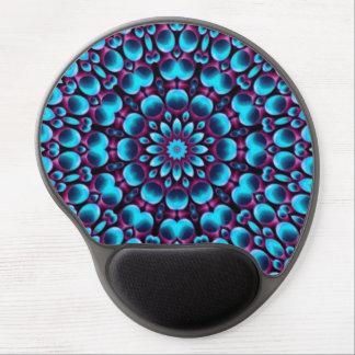 Purple Piper  Vintage Kaleidoscope  Gel Mousepad