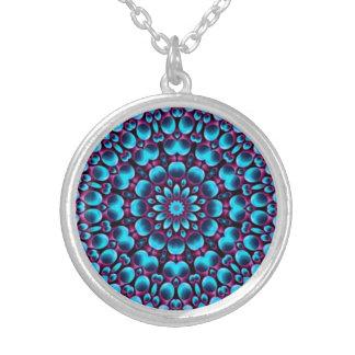 Purple Piper Vintage Kaleidoscope   Necklaces