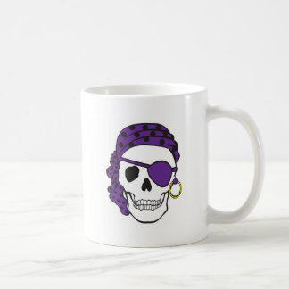 Purple Pirate Mug